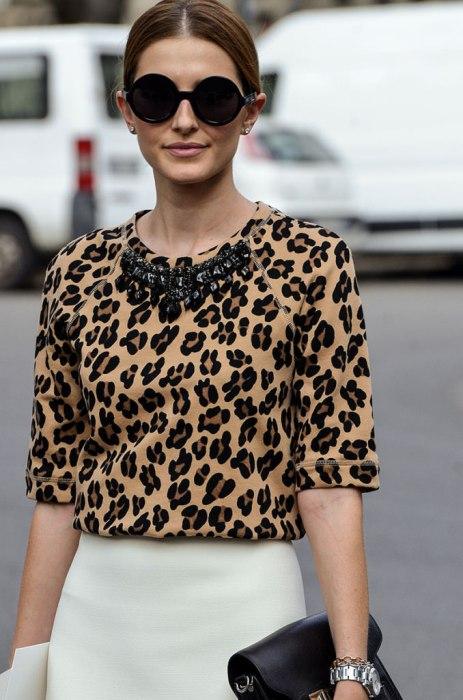 Блузка леопард 2019-2020.