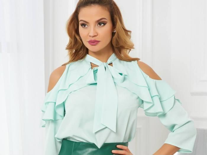 блузки с интересными рукавами.