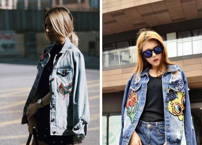 Модные модели джинсовых курток.