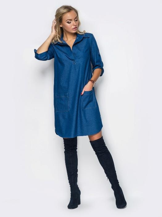 Джинсовые платья.