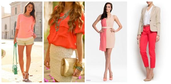 модные цвета на лето.