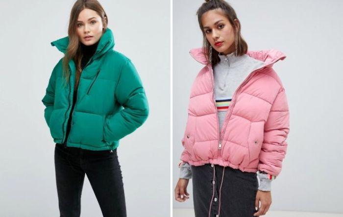 Дутые куртки на зиму.