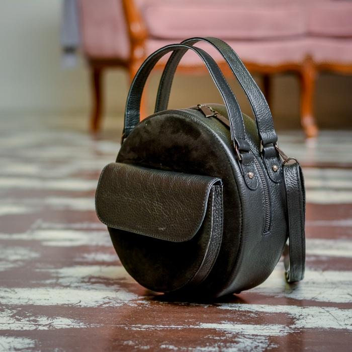 Круглая сумка.