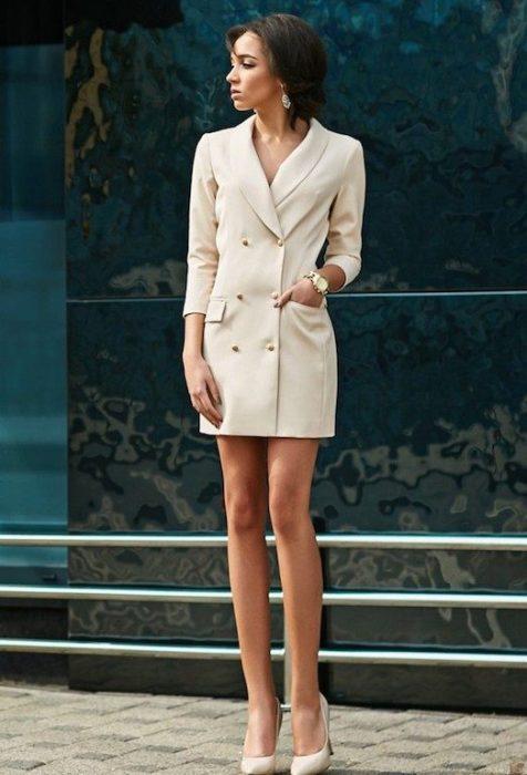 Платье пиджак.