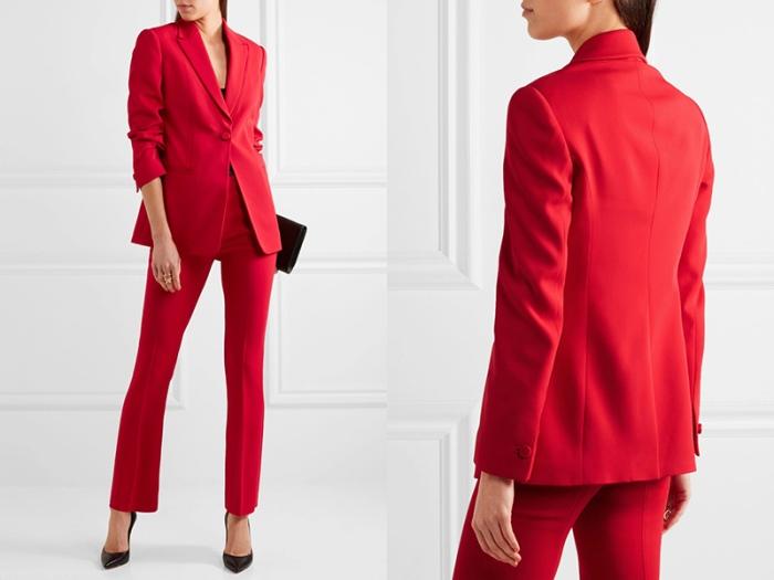 Красный пиджак.