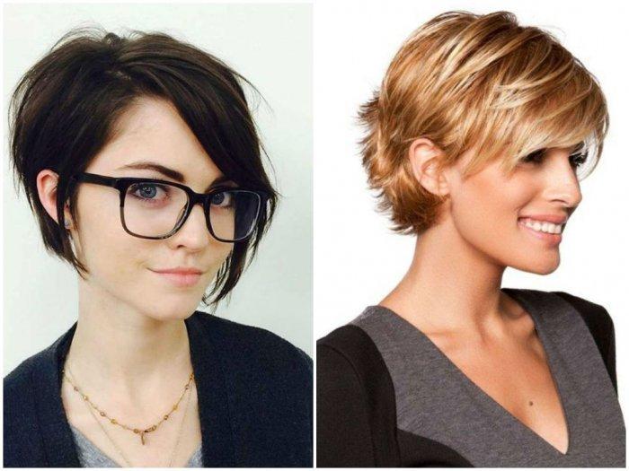 Стильные короткие женские стрижки на прямые волосы
