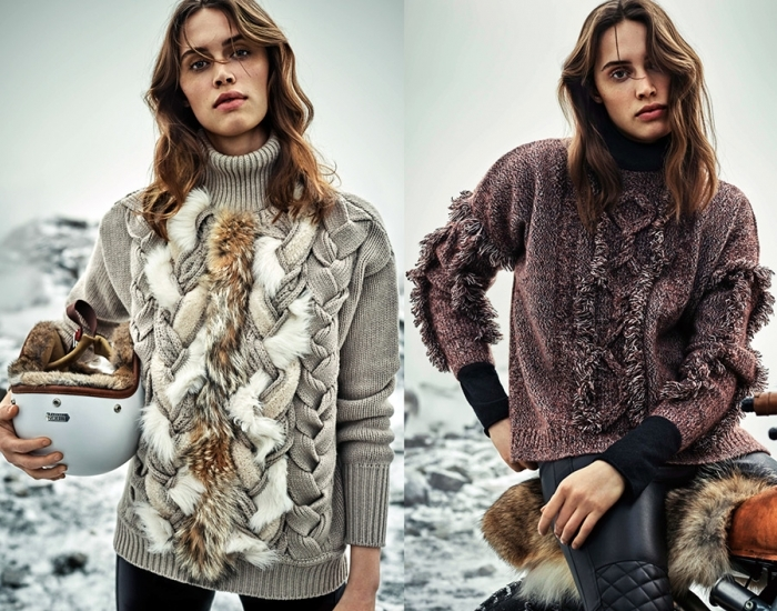 Зимний свитер.