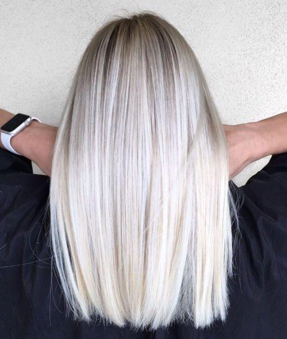 Платиновый блонд.