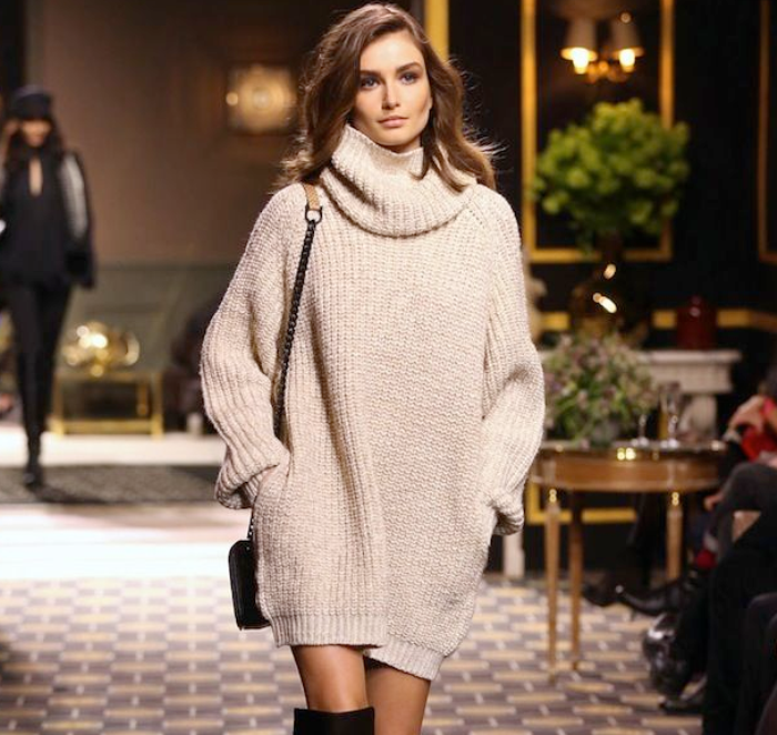 Платье свитер 2019-2020.