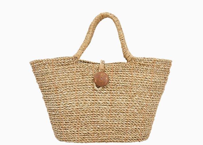 Соломенная сумка.
