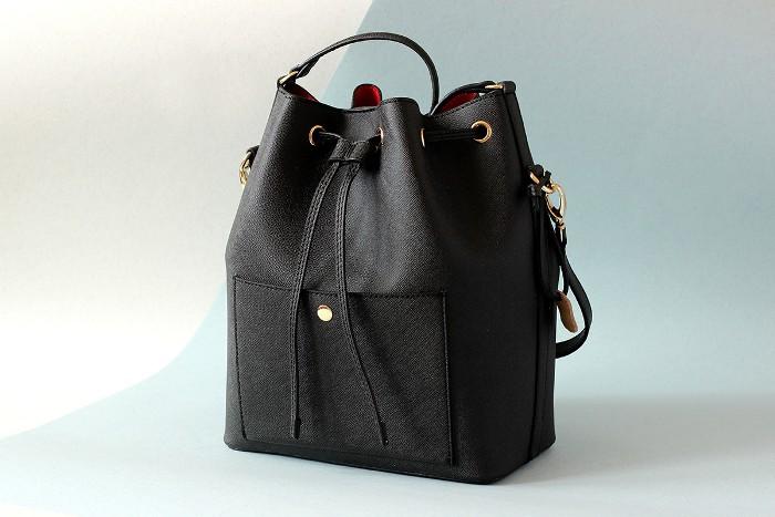 Женская сумка мешок.