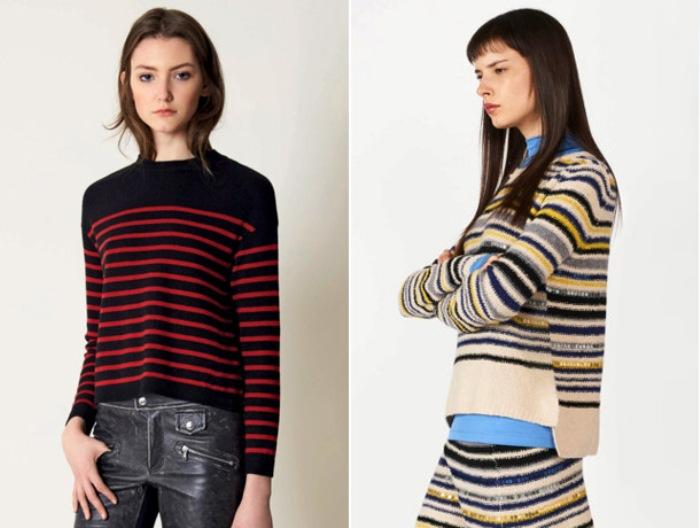 Вязанные свитера.