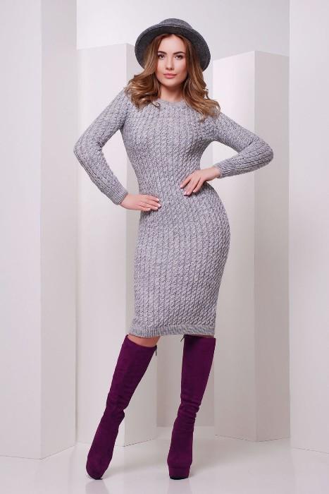 Платье-миди 2019-2020.
