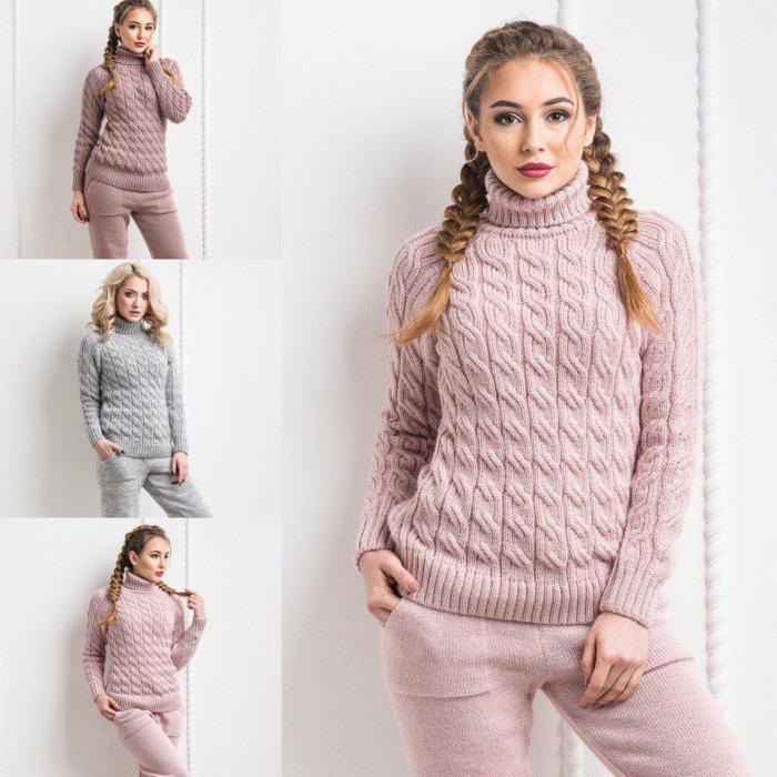 вязанные свитера из натуральной пряжи.