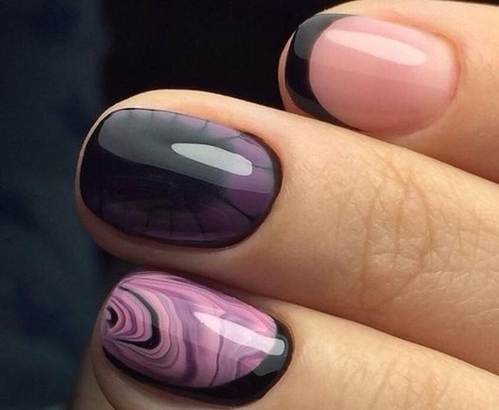 Абстрактные ногти.