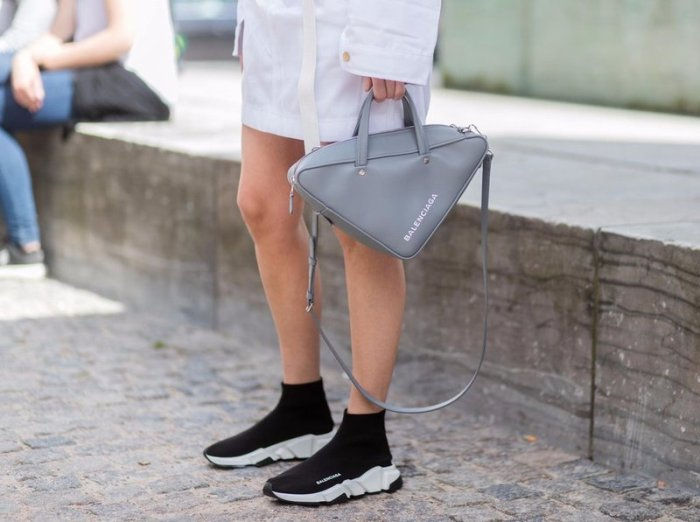 Модные кроссовки носки.
