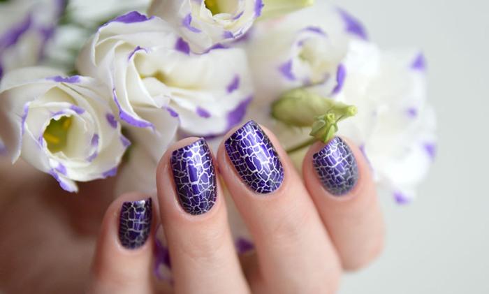 Кракелюр на ногтях.