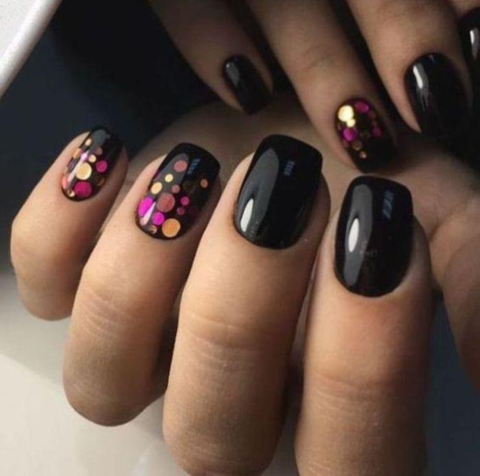 Камифубуки на ногтях.