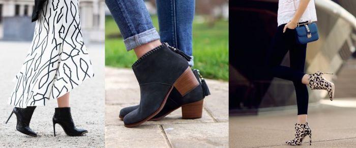 модели весенней обуви.