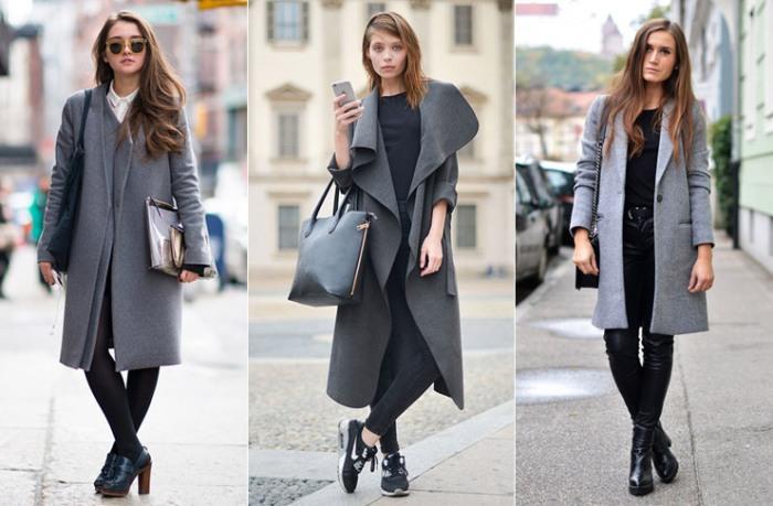Модные образы на зиму.
