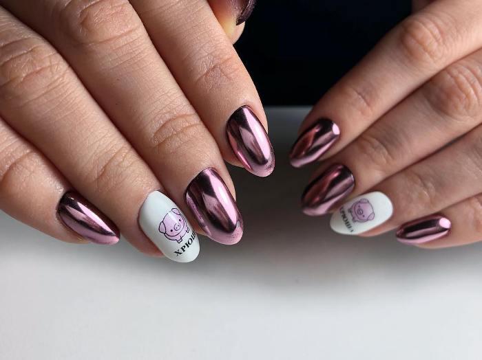 Модный дизайн ногтей.