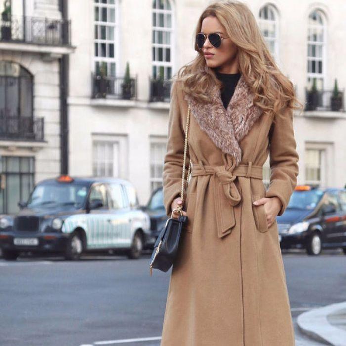 Классическое пальто.