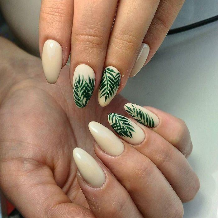 Тропические ногти.