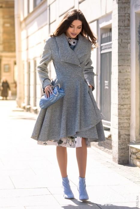 пальто-платье.