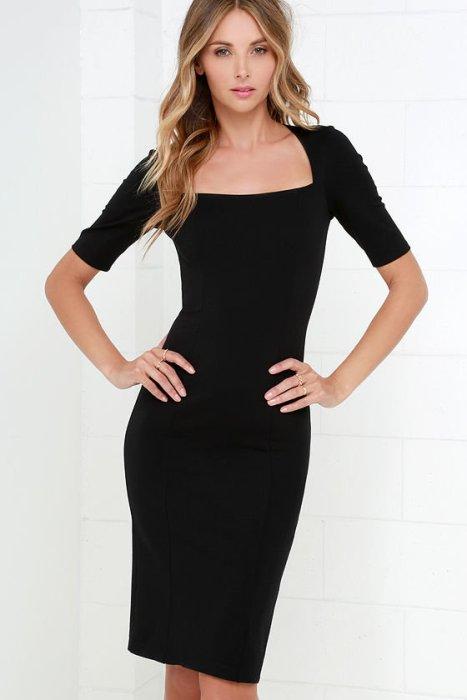 платье футляр.