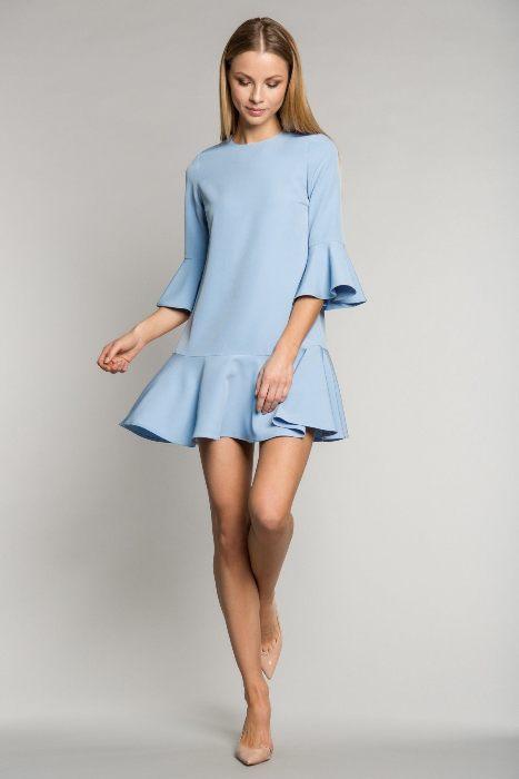 Утонченное платье.