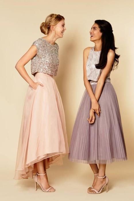 Раздельные платья.