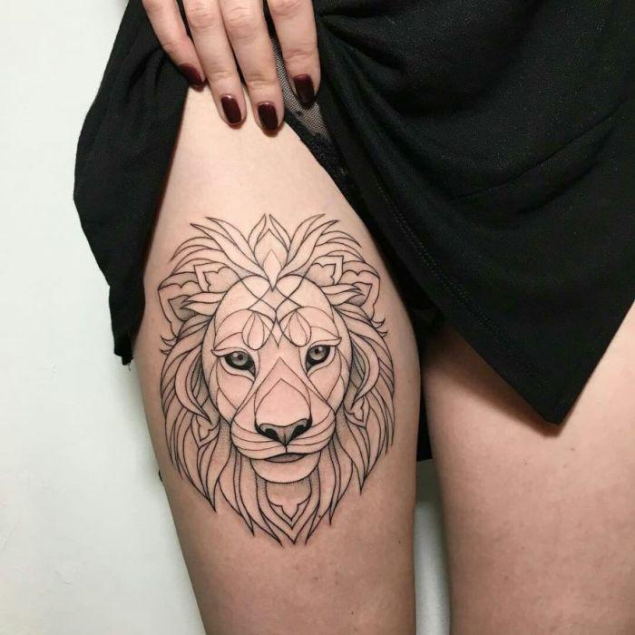 Изображение льва.