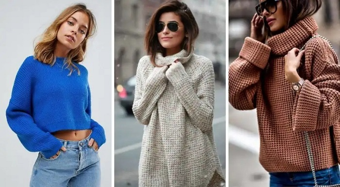 Модные свитера.