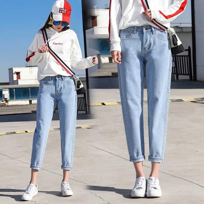 джинсы mom.