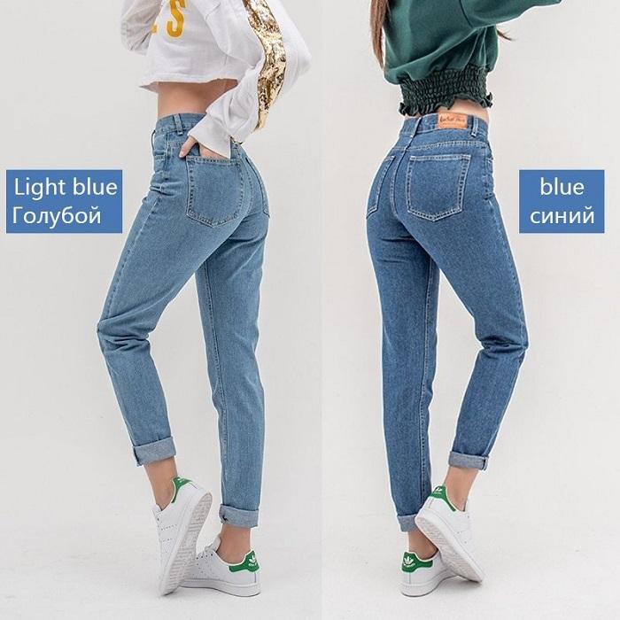 Кому подойдут джинсы мом.