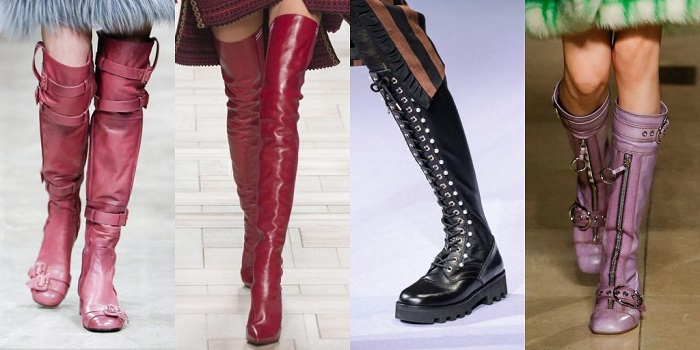 Модные тренды обуви.