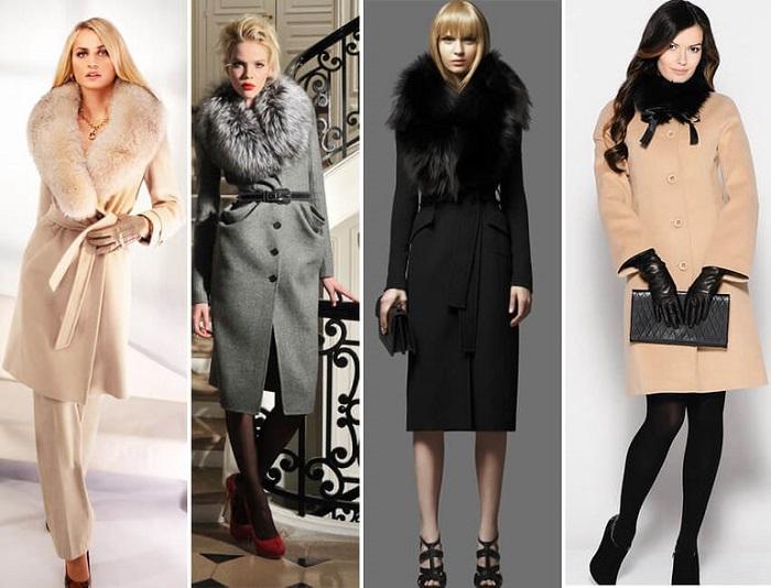Модное пальто.