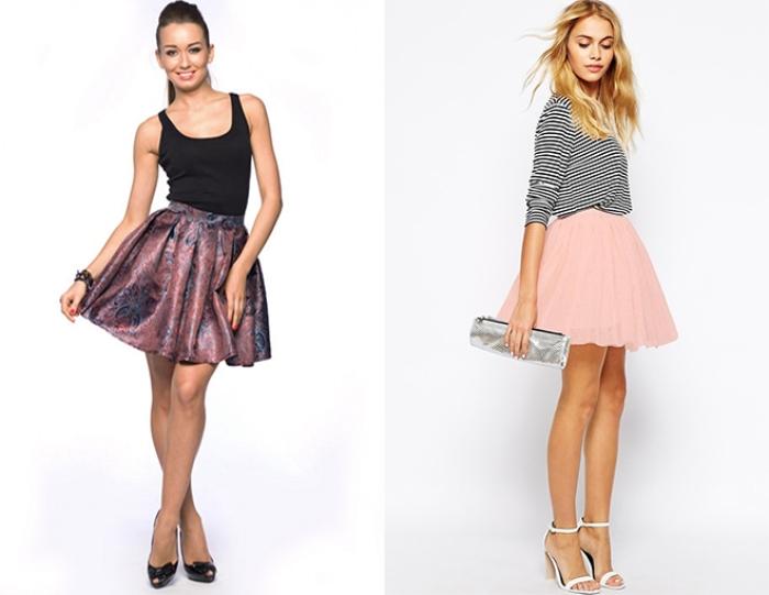Модные короткие юбки.