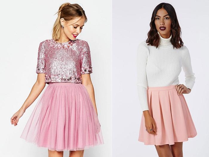 Розовые юбки.