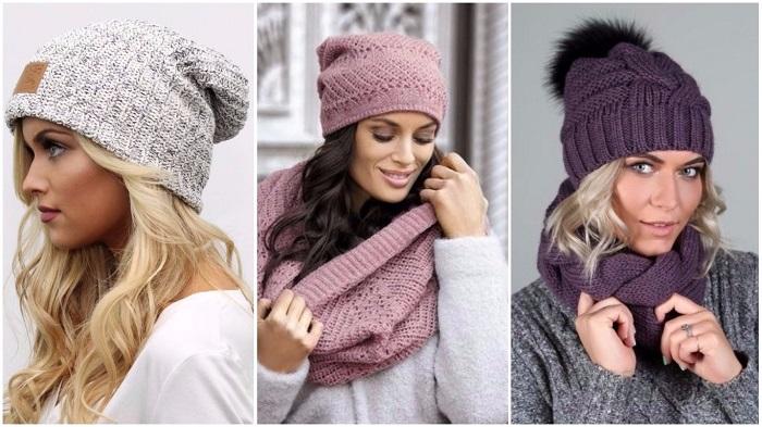 Модели шапок на зиму.