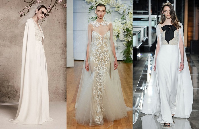Оригинальные свадебные платья.
