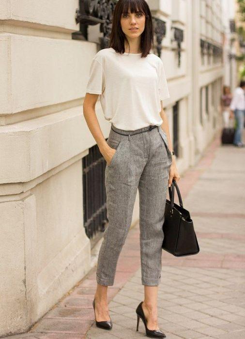 Модные брюки.