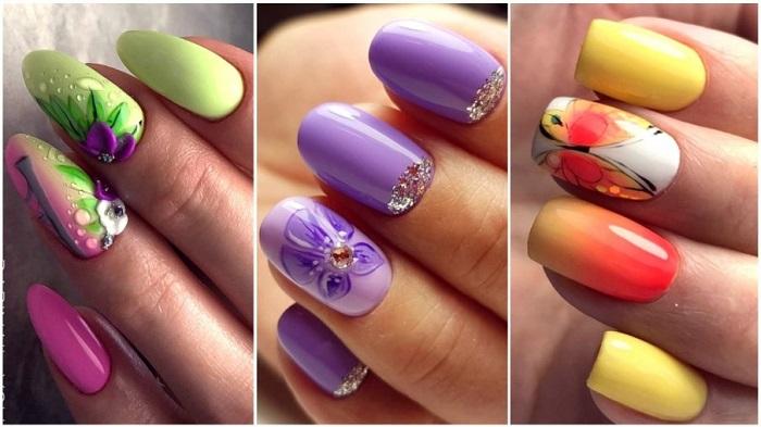 Весенние ногти.