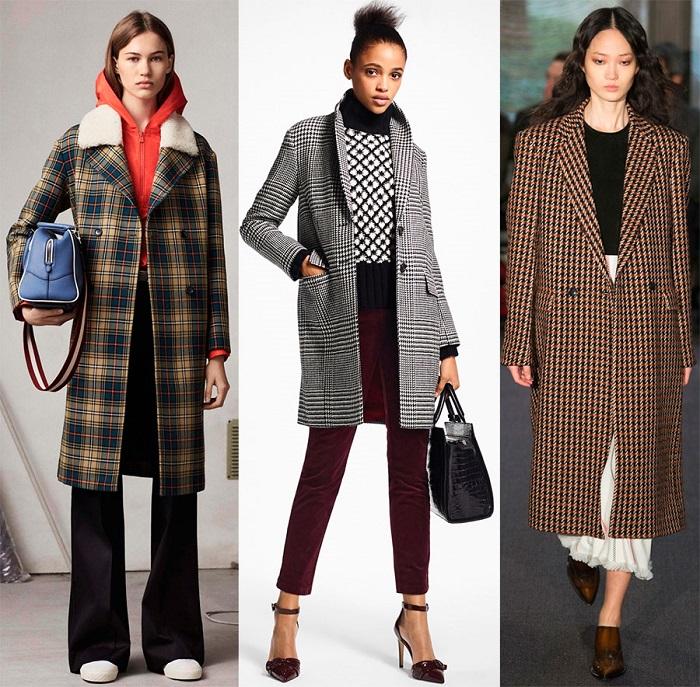 Модные пальто.