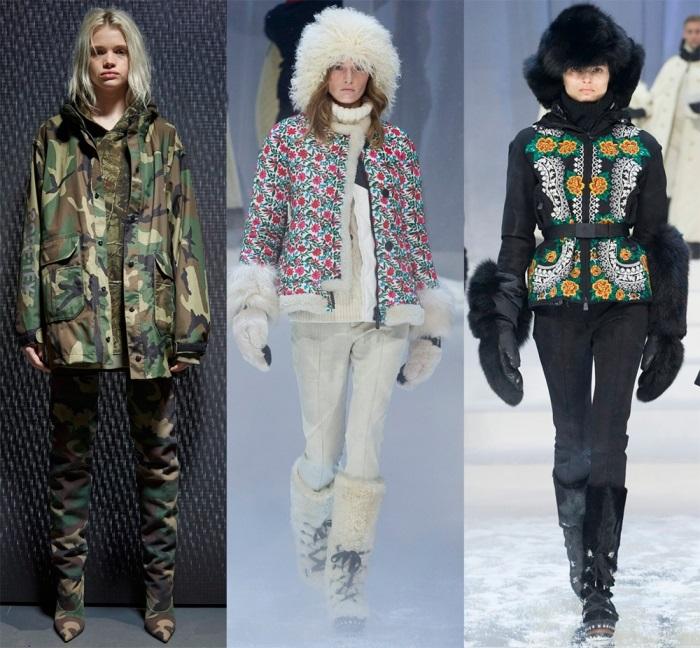 Модная зимняя одежда.