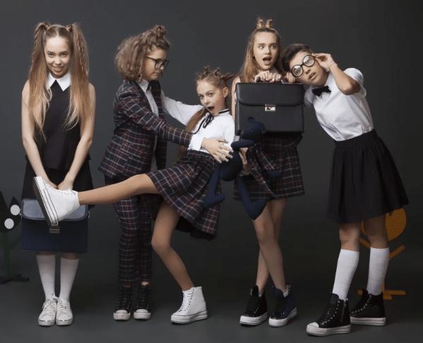 Выбор школьной формы для старшеклассниц