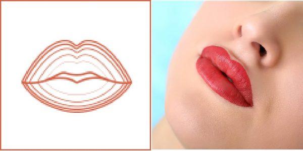 Техники выполнения татуажа губ
