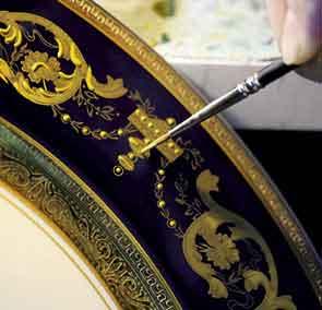 Союз искусства, роскоши и фарфора
