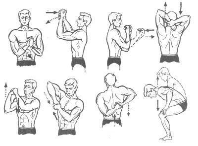 Упражнения для разминки кисти